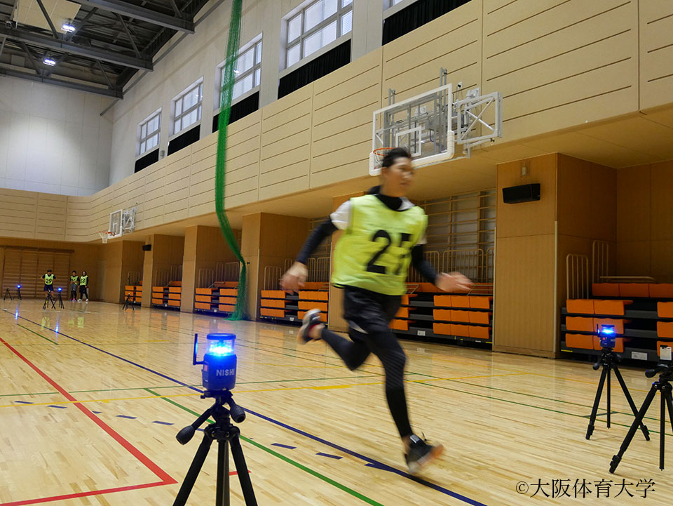 未来のオリンピアンをめざし、30m走に望む出場者