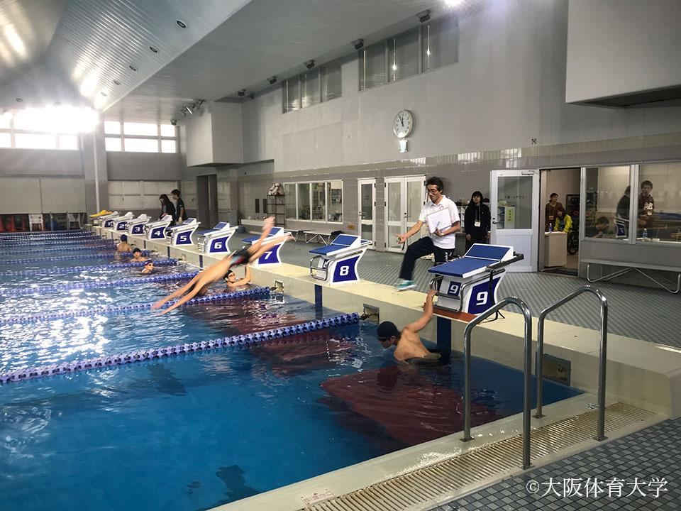 パラリンピック競技の測定正式競技にはフェンシングと水泳が