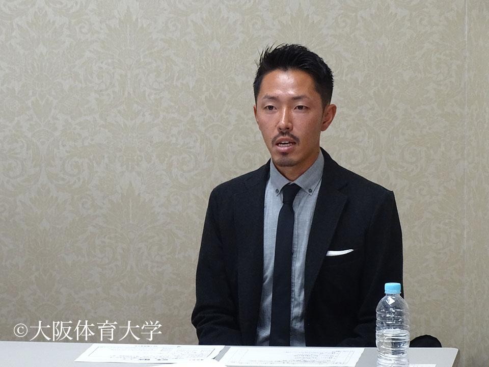 松本賢次コーチ・本学卒業生