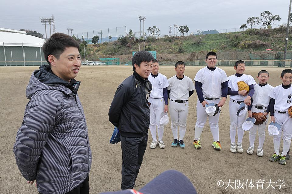 村田選手 松葉選手