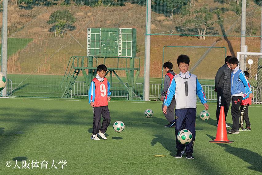 サッカーの競技体験